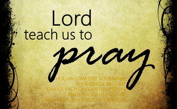 The Lord's Prayer#1