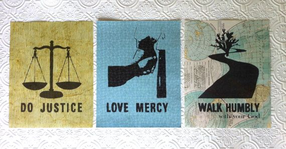 Do Justly, Love Mercy, WalkedHumbly