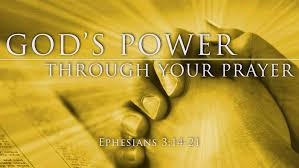 God's Power Through Your Prayer