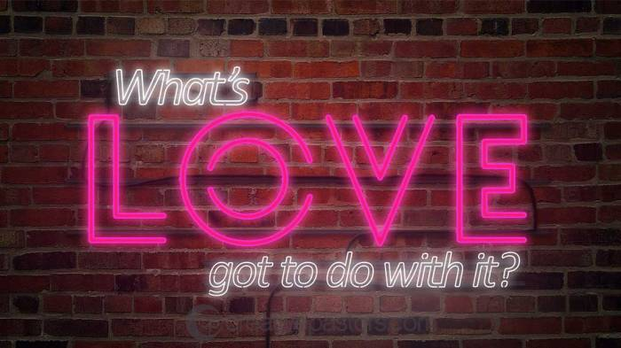 Love, my conclusion (Part1)