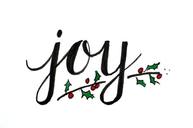 Advent (week three) Joy