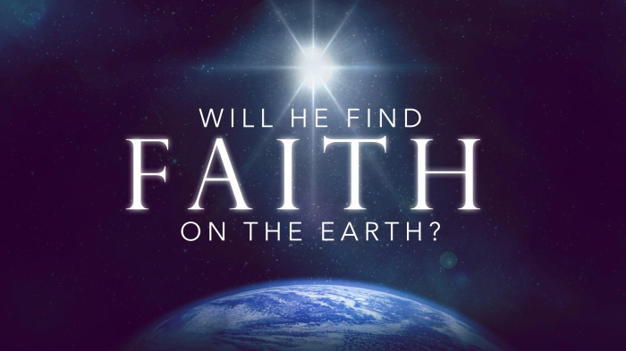 """Will I find Faith . . ."""